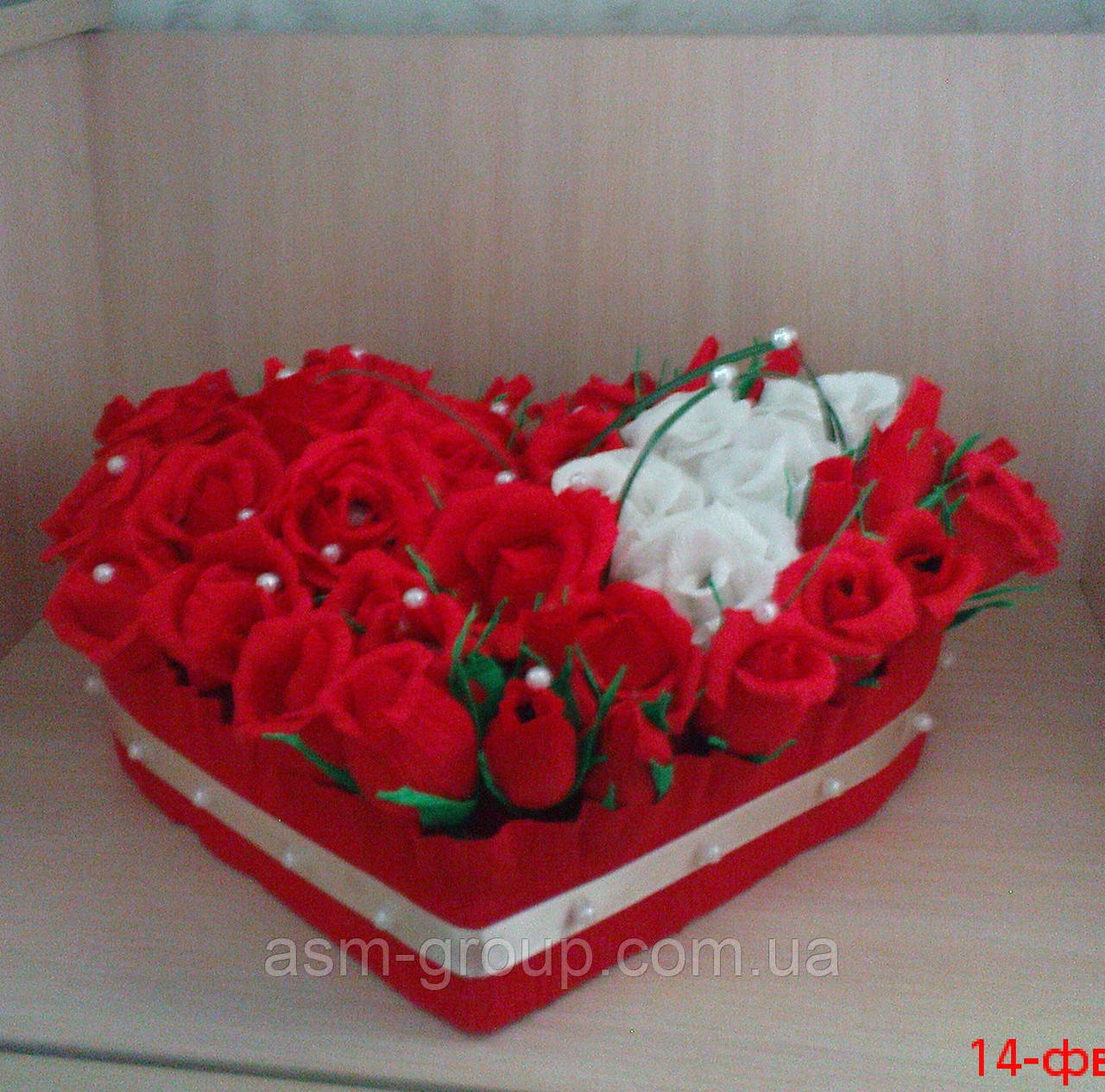 Букет в форме сердца цена — img 8