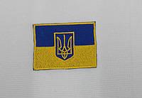 Нашивка: тризуб, прапор