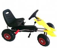 Детский карт на педалях OPT-BK-GM28 (Резиновые надувные колеса)