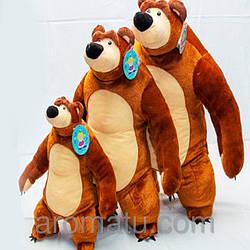 Мягкая игрушка мишка из мультфильма Маша и медведь 45 см
