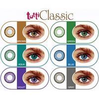 Цветные контактные линзы Tutti Classic