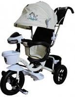 Детский трехколесный велосипед Mars Mini Trike LT960-2, цвет белый