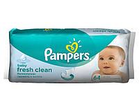 Детские влажные салфетки Pampers Baby Fresh Clean 64 шт. (1227824)