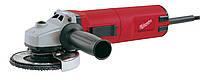 Шлифмашина зачистная AGS 15-125C; 1500 Вт; 7600 об / мин; двигатель PROTECTOR; поддержание постоянной скорости; плавный пуск; защита двигателя от