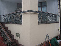 Кованые балконные ограждения