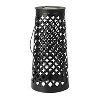 СОЛВИДЕН Напольн светодиод светильник/слн бт, конусообразный черный