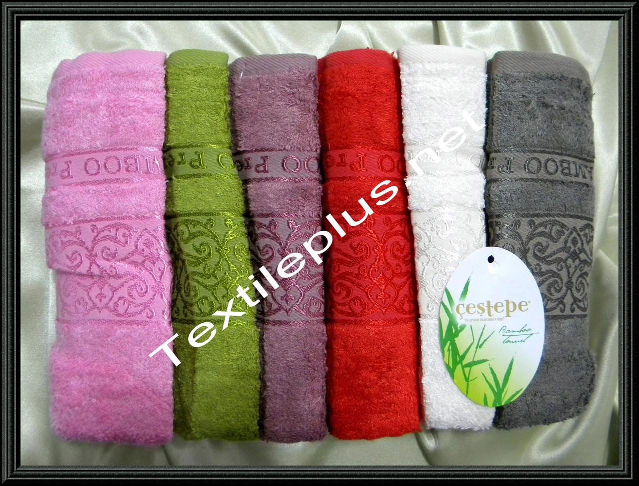 Комплект лицевых бамбуковых полотенец Cestepe Premium - Textile plus в Хмельницком