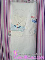 Одеяло в кроватку или коляску Bear Friendship