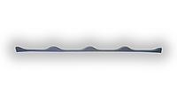 Уплотнитель кровельный для  металлочерепицы типа «Крон» (Прушински)  под карниз
