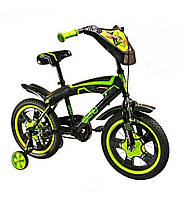 Детский Велосипед 2-х колесный, 12 дюймов, SX-001-12 KK (зеленый)