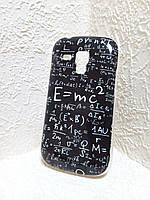 [ Чехол-накладка Samsung Galaxy S Duos S7562 GT S7562 7562 ] Накладка тпу с дизайном на Самсунг
