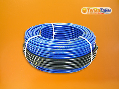 Двожильний гріючий кабель HOT LINE нДК-1400 (10,2 кв.м), (двужильный нагревательный кабель)