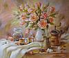«Кофейный аромат» картина маслом
