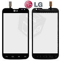 Touchscreen (сенсорный экран) для LG Optimus L70 D325 Dual SIM, оригинальный (черный)