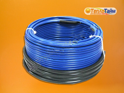 Двожильний гріючий кабель HOT LINE нДТ-340 (2,8 кв.м), (двужильный нагревательный кабель)
