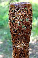 Резная ваза для цветов