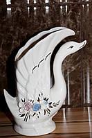 """Фарфоровая ваза """"Лебедь"""""""