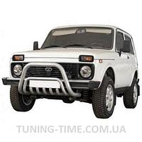 Кенгурятник Lada Niva большой d:60мм