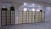 Ширма мобильная стенка. Цена 1 секции.