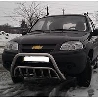 Кенгурятник Niva Chevrolet большой d:60мм