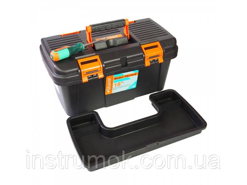 """Ящик для инструмента пластиковый кейс 18"""" Sturm TB21518"""