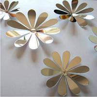 Цветы зеркальные (маленькие)