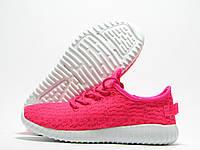 Кроссовки женские Yeezy Boost розовые