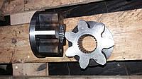 Шестерня малая 7 зубка редуктора поворота отвала Z=7 автогрейдера ДЗ-143