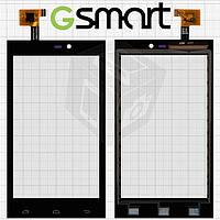 Touchscreen (сенсорный экран) для Gigabyte GSmart Roma R2, черный, оригинал