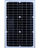 Солнечная панель Solar board 30W 18V 64 * 34 cm 64 x 34 см