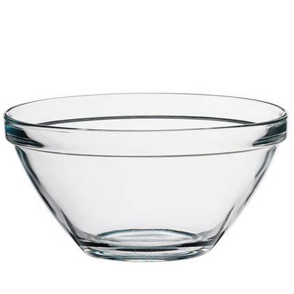 Салатник стеклянный BORMIOLI ROCCO POMPEI (26см) 193020M01321990, фото 2