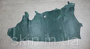 """Натуральная кожа """"Крейзи Хорс"""" для обуви и кожгалантереи зеленая, толщина 1.5 мм,  арт. СК 2090, фото 2"""