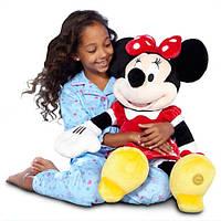 Мягкая игрушка Дисней Минни Маус красный Minnie Mouse  Disney 70 см
