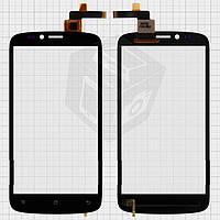 Touchscreen (сенсорный экран) для IconBIT NetTAB Mercury Q5 (NT-3510M), оригинальный (черный)