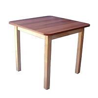 """Детский столик для детского сада из дерева """"Симпл"""" ТМ КИНД (60х60 см)"""