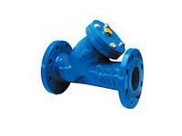 Фильтр для воды фланцевый осадочный чугунный Ду 65 мм