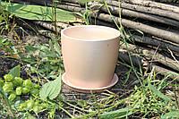 Цветочный горшок «Осень» карамель перламутр, 0,5 литра