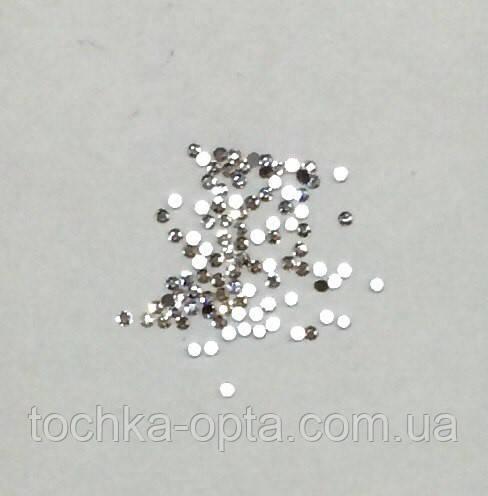 Стразы Сваровски белые S4(1/5-1/7mm)100 штук в уп-ке