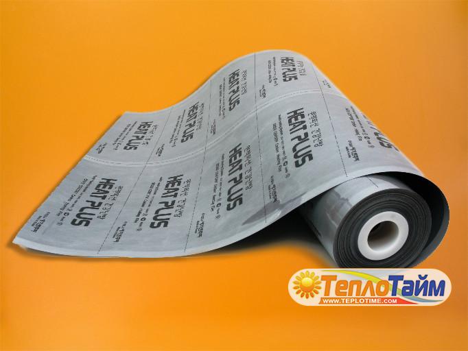 ІЧ плівка Heat Plus Silver Coated (суцільна) APN-410-220, (теплый пол ИК пленка)