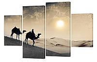 Модульная картина 422 верблюды