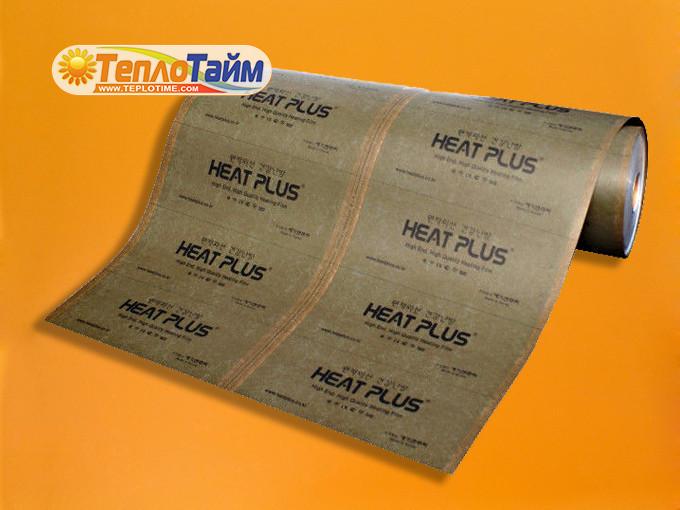 ІЧ плівка Heat Plus Khaki Coated (суцільна) APN-410-220, (теплый пол ИК пленка)