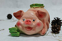 Копилка Свинья с долларами