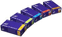 Перчатки нитриловые защитные, не опудренные, одноразовые (упак./100 пар/200шт) Нитрилекс ПФ Протект.