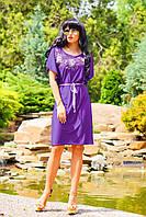 Женское лёгкое платье микромасло + большие размеры