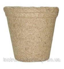 Торфяной горшок Jiffy для рассады плотный круглый, 10 см (упаковка 10 шт)