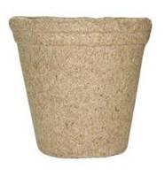 Торфяной горшок Jiffy для рассады плотный круглый, 10 см (упаковка 10 шт), фото 1