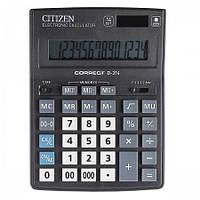 Калькулятор CITIZEN Correct D-314 , бух, 14 р