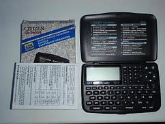 Записная книжка CITIZEN RX-3400 II