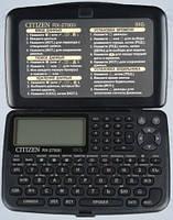 Записная книжка CITIZEN RX-2700 II 8 кб (89х133х11мм)
