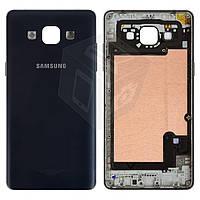 Корпус для Samsung Galaxy A5 A500 / A500F / A500FU / A500H, синий, оригинал